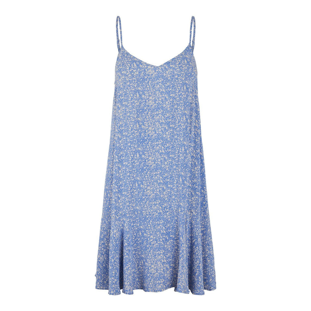 Slip dress blue