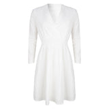 Kae dress white