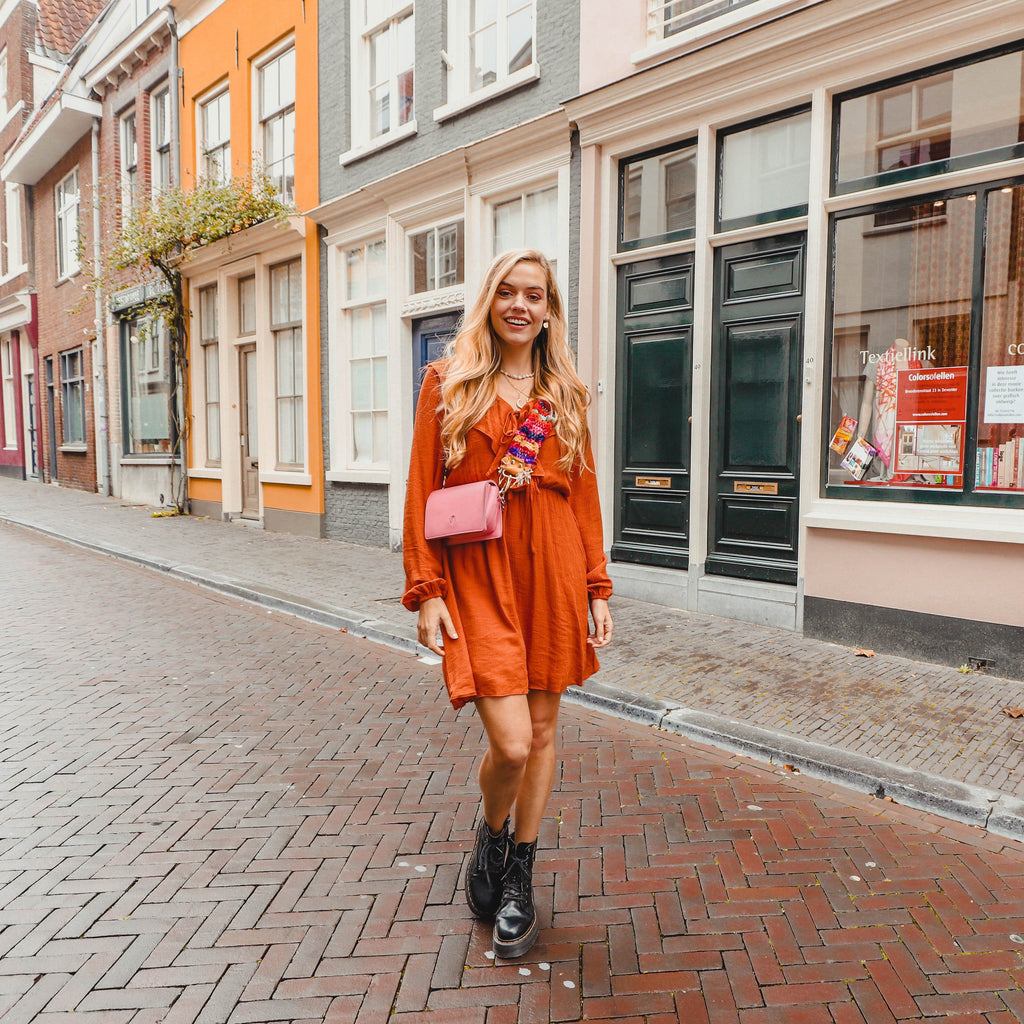 Carilla dress roest