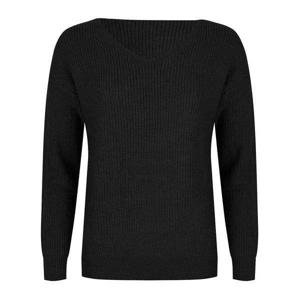 Basic knit black