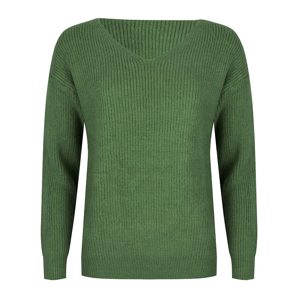 Basic knit green