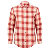 Checked blouse red