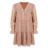 Joelle dress gold