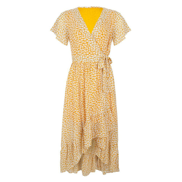 Flower dress yellow