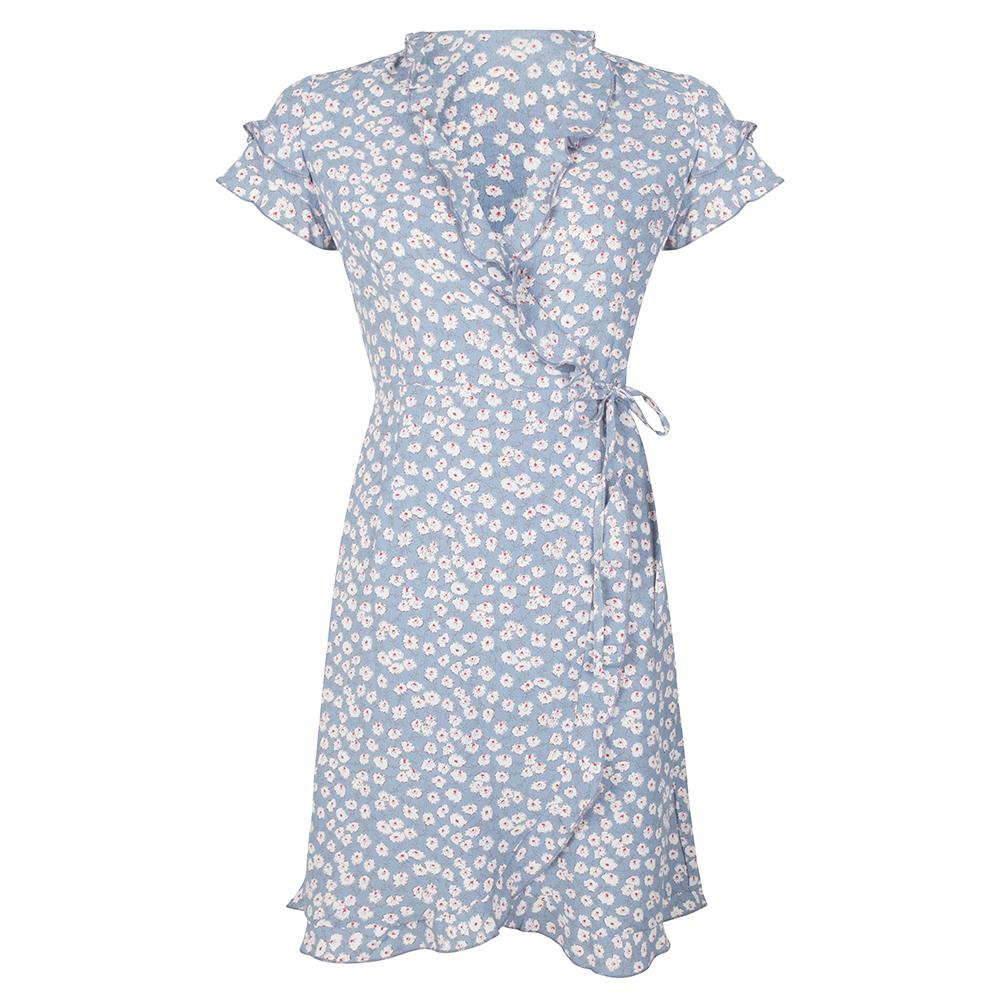 Fleurie dress blue