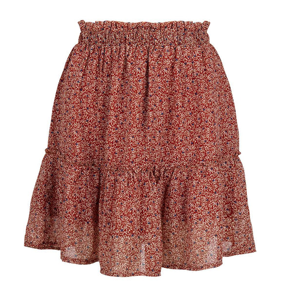 Fall flower skirt