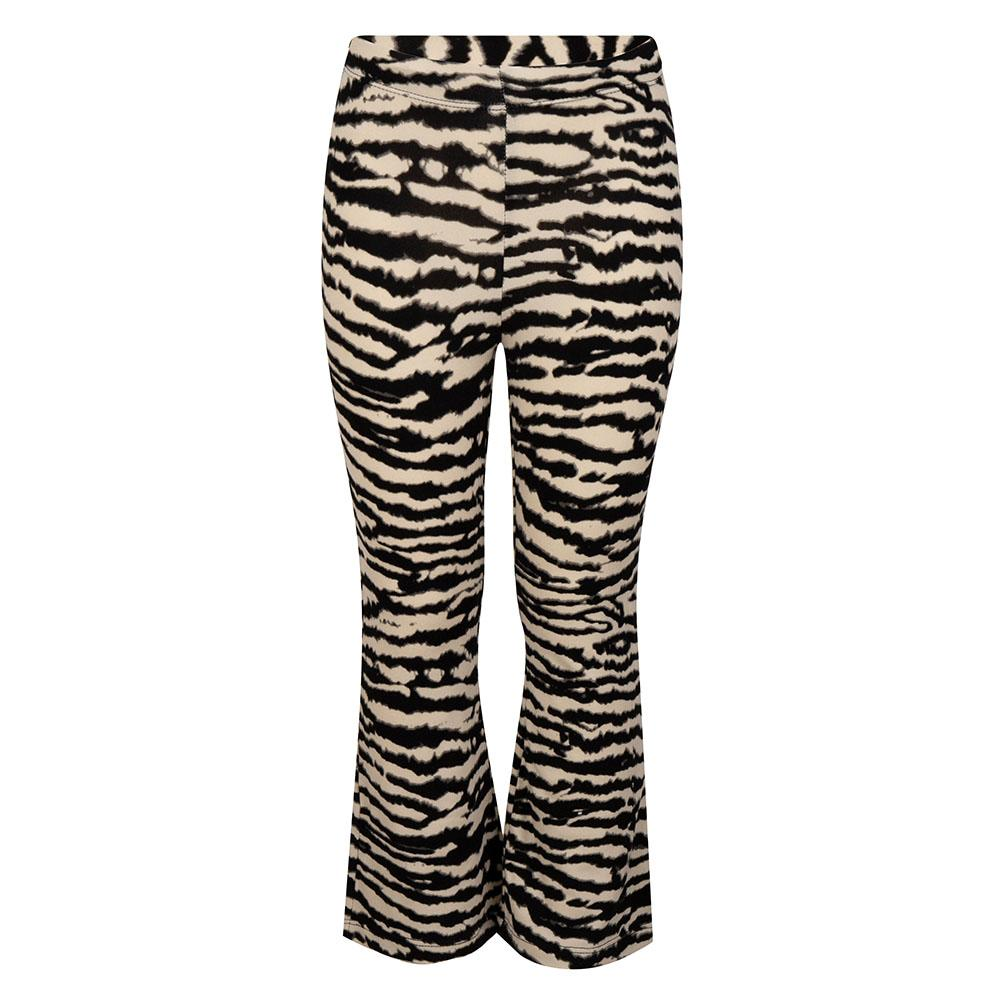 Kinder flared legging zebra