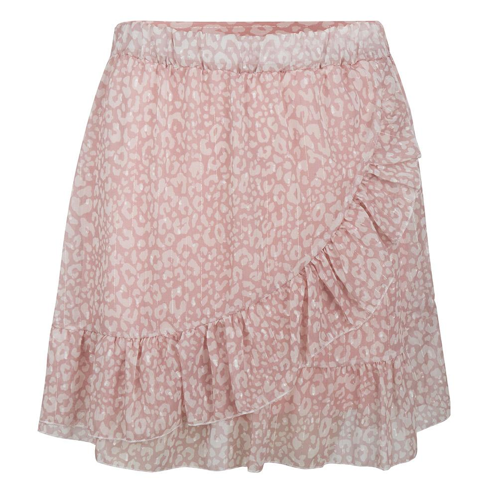Leo wrap skirt roze