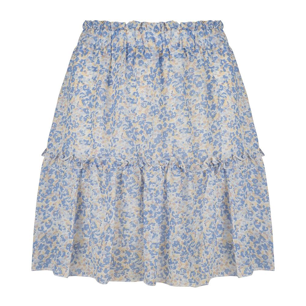 Blue flower skirt