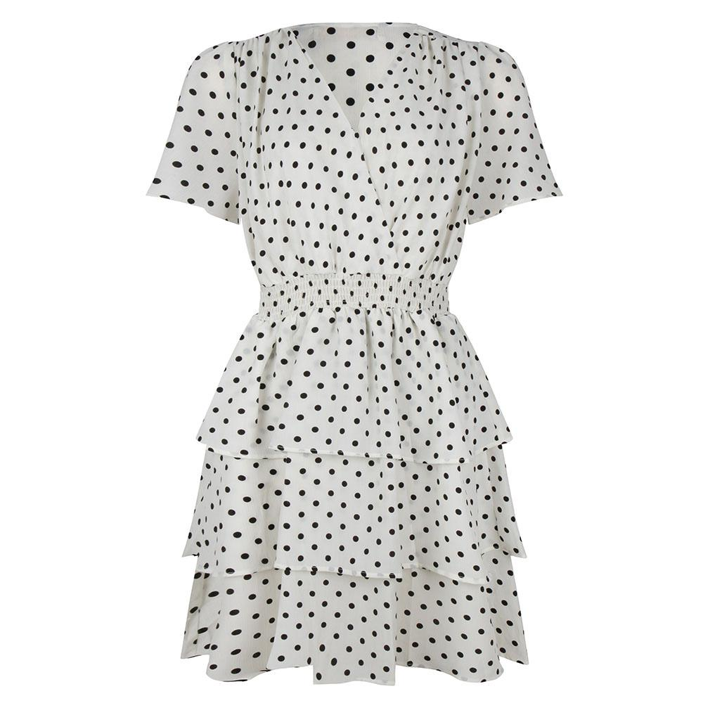 Polka layer dress