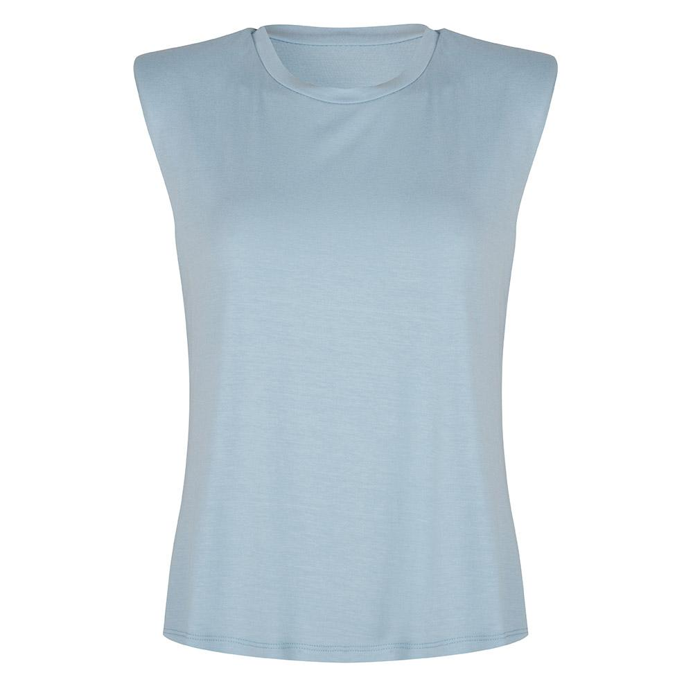 Tanktop shoulder pad blue