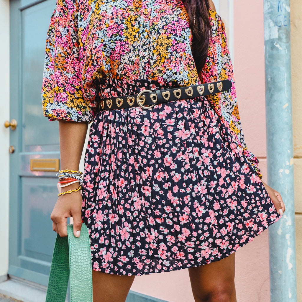 Abby flower skirt