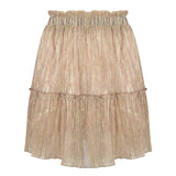 Golden party skirt