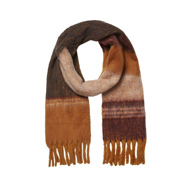 Janet long scarf gold