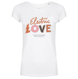 Electric love tee white