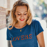 Lovers tee blue