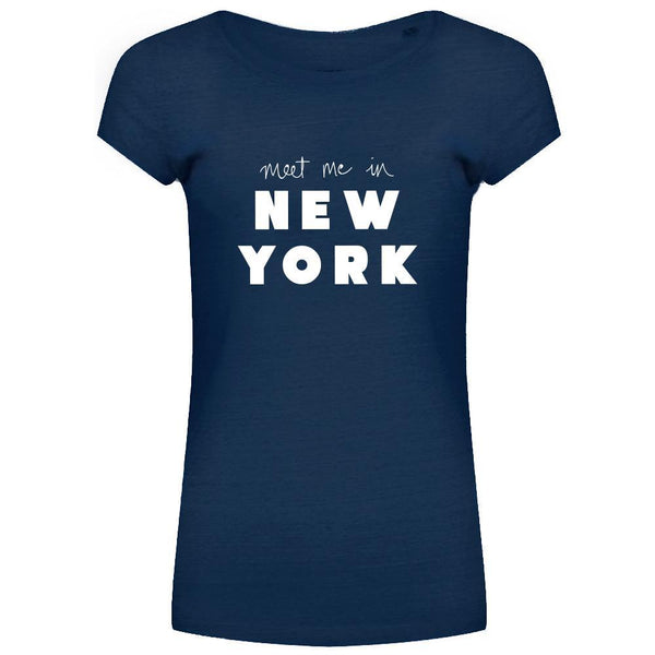 NEW YORK TEE NAVY