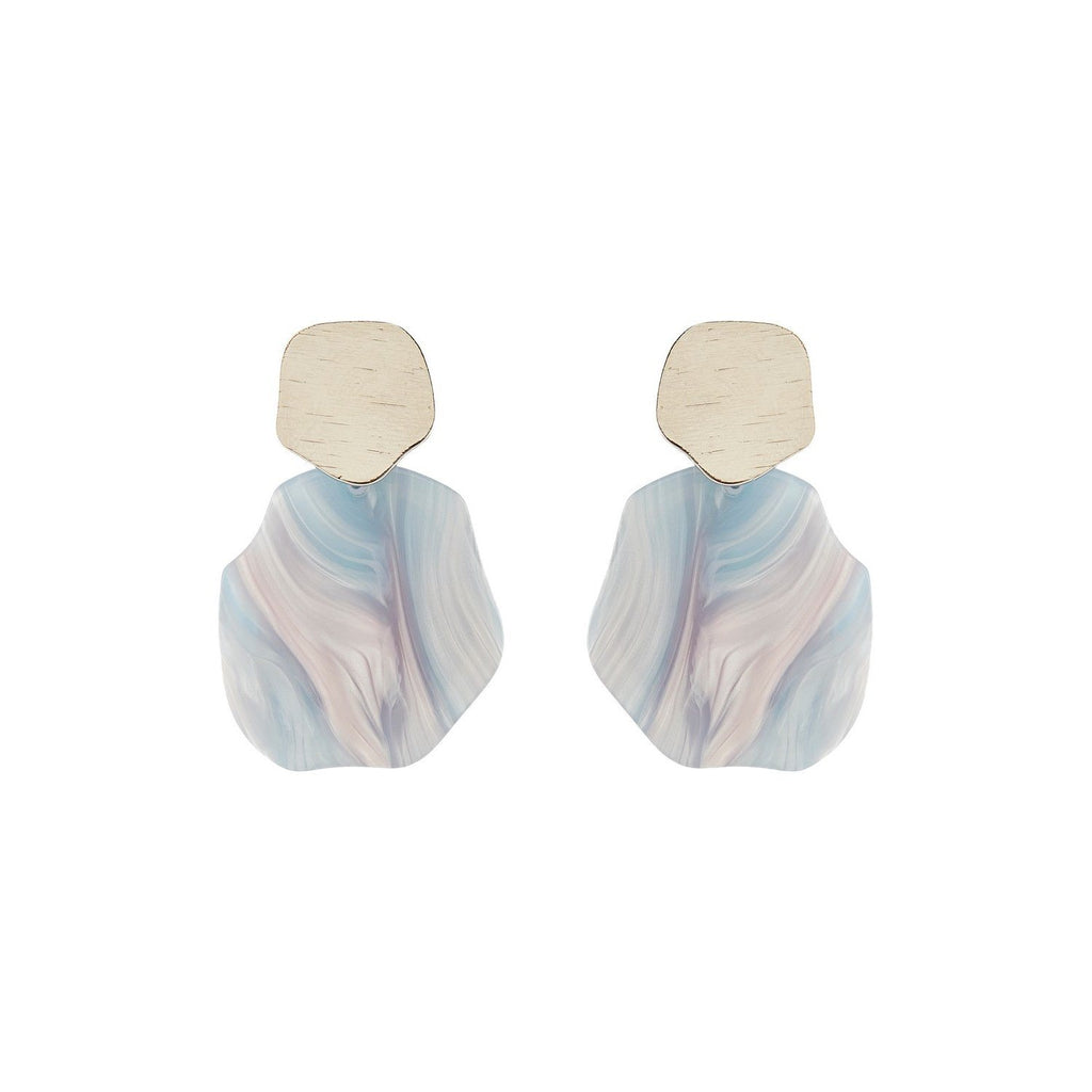 Molly earring blue