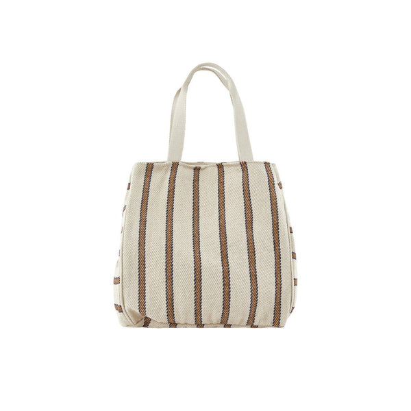 Gestreepte shopper coconut