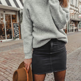 Perfect knit grey