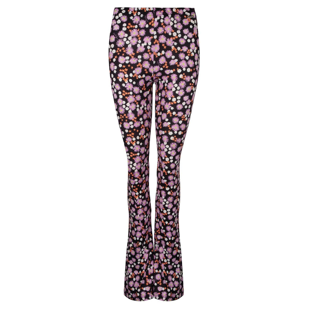 Soft flared legging daisy lila