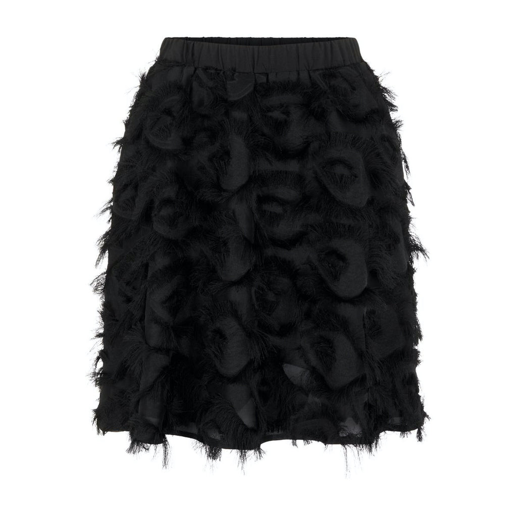 Yas feather skirt