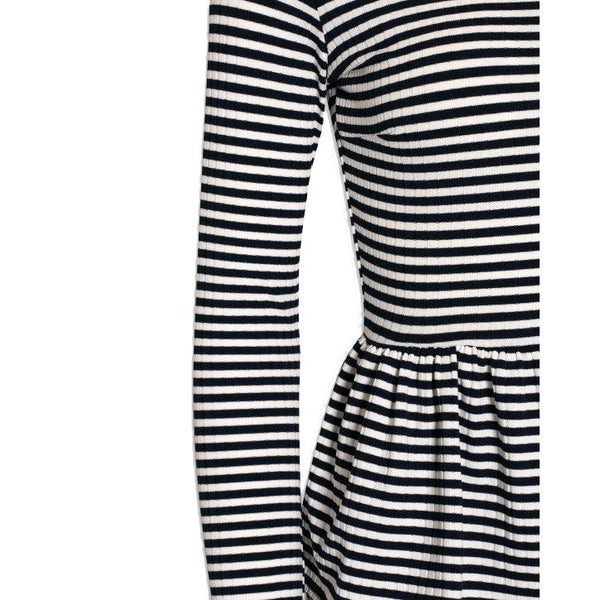 Criss dress navy / white