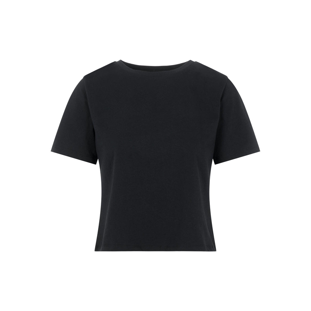 Rina crop top black