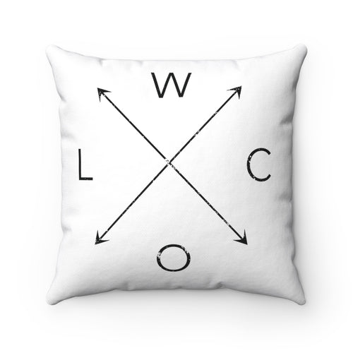 WLCO Throw Pillow