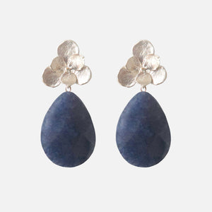 Petit Bonbon statement riverside blossom earrings oorbellen