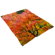 Load image into Gallery viewer, Autumn Leaves Blanket