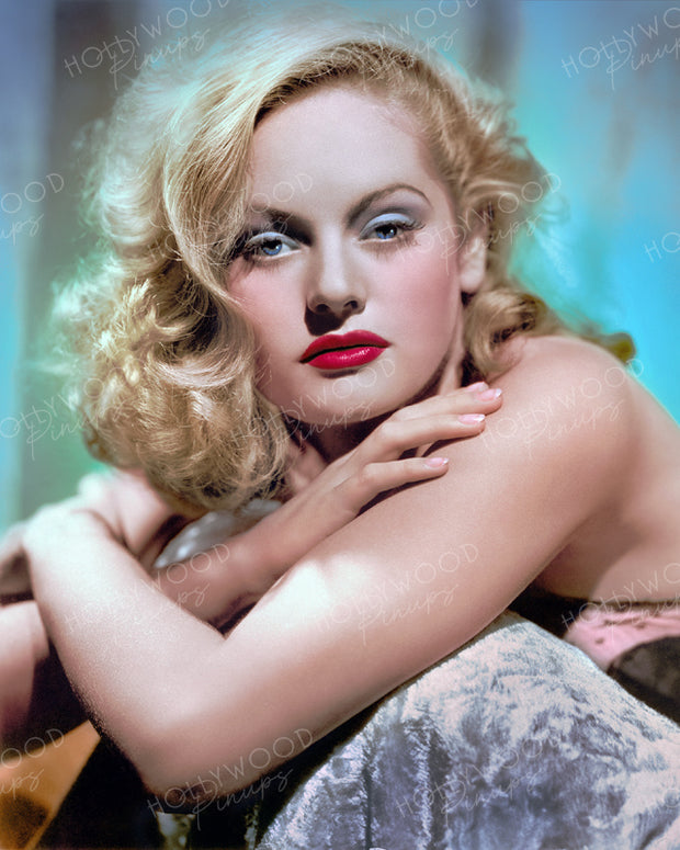 Alexis Smith Blonde Allure 1941 | Hollywood Pinups | Film Star Colour and B&W Prints