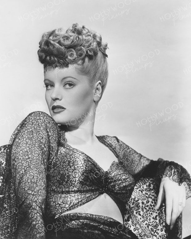 Alexis Smith Lace Fantasy 1945 | Hollywood Pinups | Film Star Colour and B&W Prints