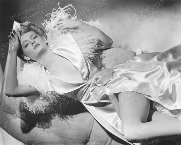 Alexis Smith Sensual Satin 1941 | Hollywood Pinups | Film Star Colour and B&W Prints