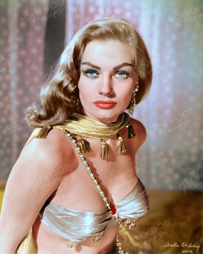 Anita Ekberg in ZARAK 1956 | Hollywood Pinups | Film Star Colour and B&W Prints