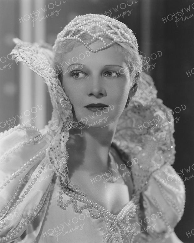 Ann Harding by ERNEST BACHRACH 1934 | Hollywood Pinups Color Prints