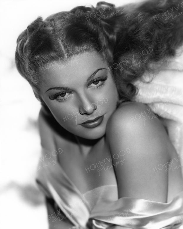 Ann Sheridan Sensual Shimmer 1939 | Hollywood Pinups | Film Star Colour and B&W Prints