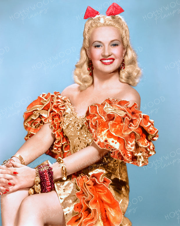 Betty Grable DOWN ARGENTINE WAY 1940 | Hollywood Pinups | Film Star Colour and B&W Prints