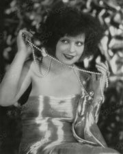 Clara Bow Shimmering Pearls 1927 | Hollywood Pinups | Film Star Colour and B&W Prints