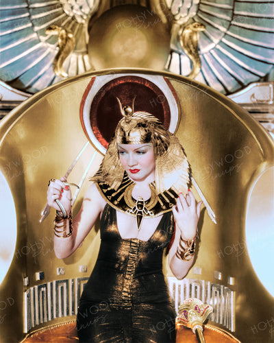 Claudette Colbert CLEOPATRA 1934 | Hollywood Pinups | Film Star Colour and B&W Prints