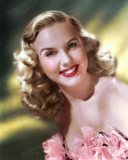 Deanna Durbin by RAY JONES 1945 | Hollywood Pinups | Film Star Colour and B&W Prints