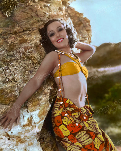 Dolores Del Rio BIRD OF PARADISE 1932 | Hollywood Pinups | Film Star Colour and B&W Prints