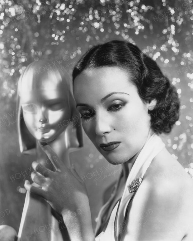 Dolores Del Rio Shimmer Belle 1935 | Hollywood Pinups | Film Star Colour and B&W Prints
