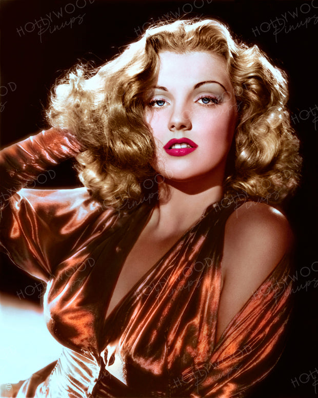 Dolores Moran by BERT SIX 1943 | Hollywood Pinups | Film Star Colour and B&W Prints