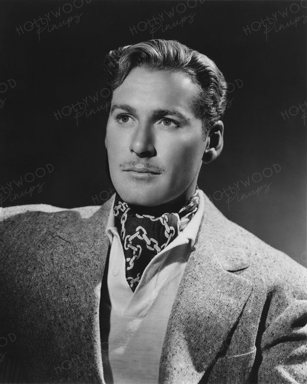 Errol Flynn Dashing Devil 1940 | Hollywood Pinups | Film Star Colour and B&W Prints