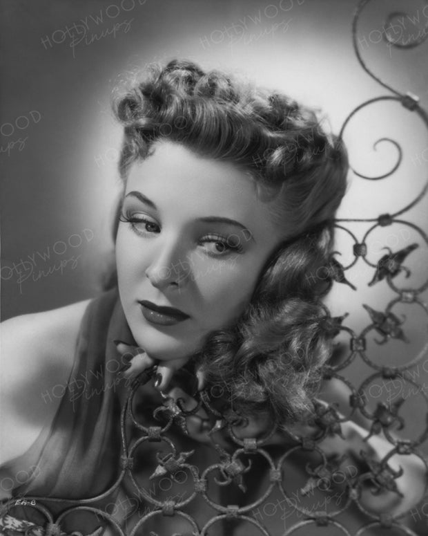 Evelyn Ankers Sultry Stare 1941 | Hollywood Pinups | Film Star Colour and B&W Prints