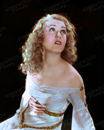 Fay Wray KING KONG 1933 | Hollywood Pinups | Film Star Colour and B&W Prints