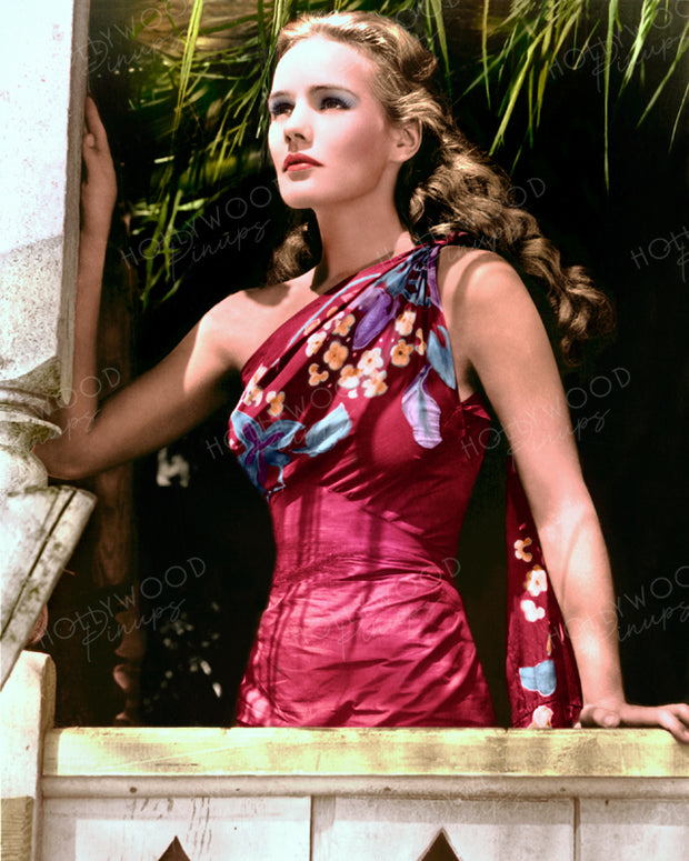 Frances Farmer EBB TIDE 1937 | Hollywood Pinups | Film Star Colour and B&W Prints