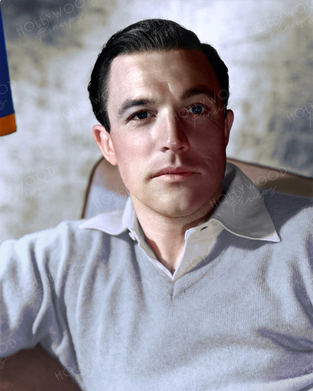 Gene Kelly Handsome Portrait 1946 | Hollywood Pinups | Film Star Colour and B&W Prints