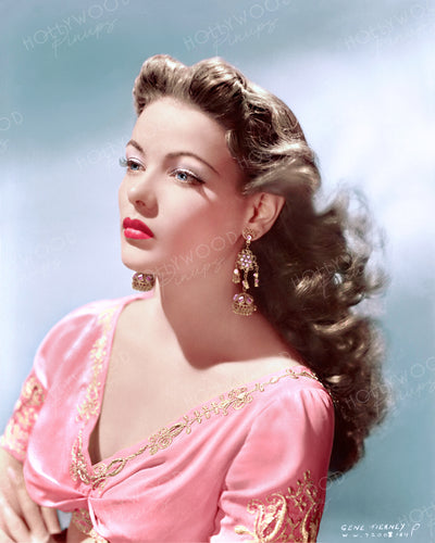 Gene Tierney Breathtaking Beauty 1941 | Hollywood Pinups | Film Star Colour and B&W Prints